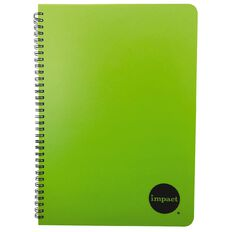 Impact Notebook PP Wiro Green A4