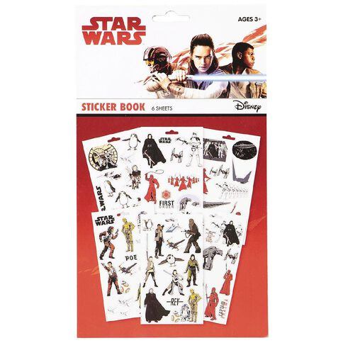 Star Wars 6 Page Sticker Book