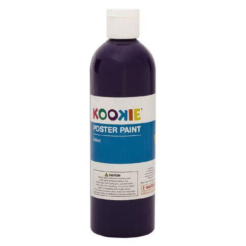 Kookie Poster Paint Purple 500ml