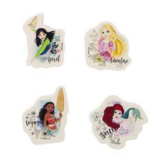 Disney Princess Erasers 4 Pack