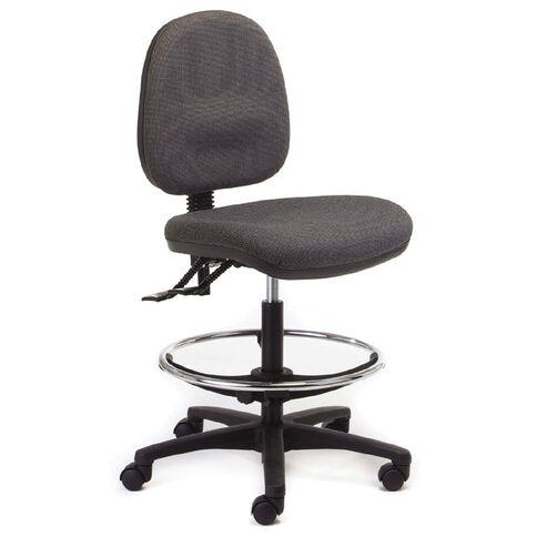Chair Solutions Aspen Midback Tech Chair Clarity Grey