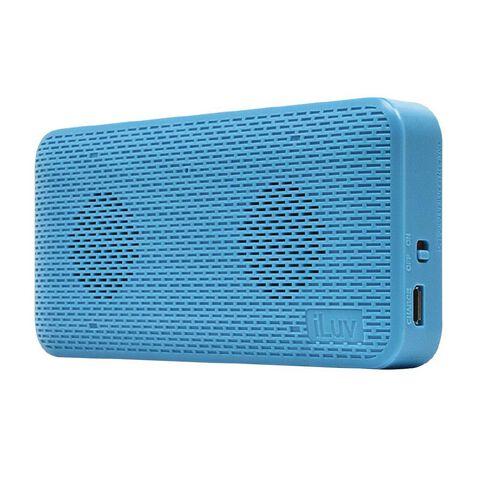 iLuv Iluv Ultra Slim Wireless Bluetooth Speaker Blue