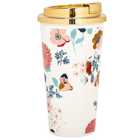 Uniti Winter Bloom Travel Mug