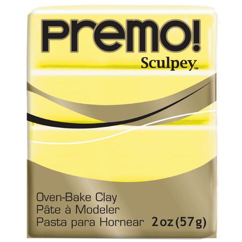 Sculpey Premo Accent Clay 57g Sunshine Yellow