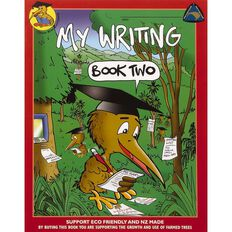 Clever Kiwi My Writing Book 2 Multi-Coloured