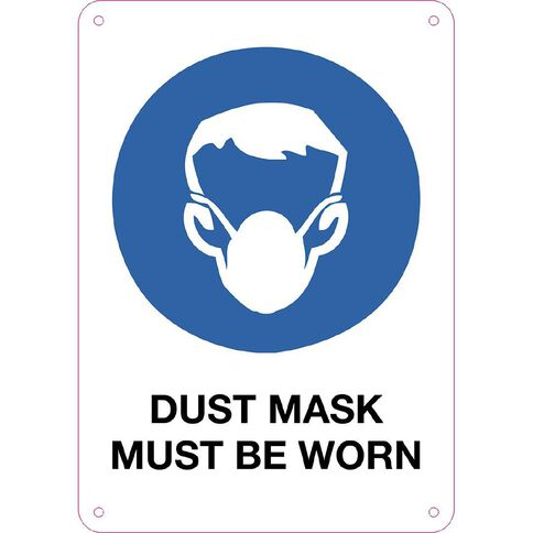 WS Dusk Mask Must be Worn Sign Small 340mm x 240mm