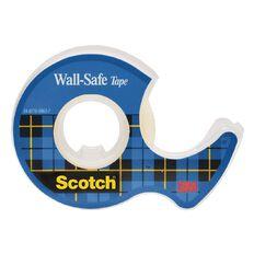 Scotch Wall-Safe Tape 19mm x 16.5m