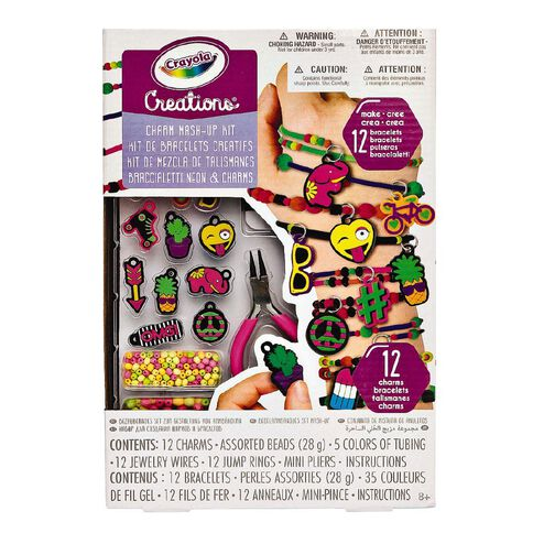 Crayola Creations Neon Charm Mash Up Kit