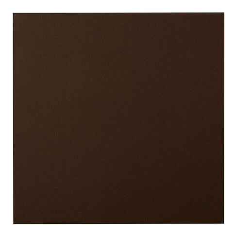 American Crafts Smooth Cardstock 12x12 Coffee