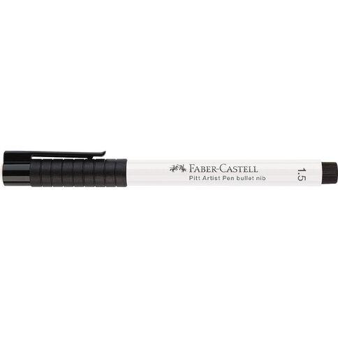 Faber-Castell Pitt Artist Pen White