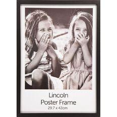 Uniti Box Poster Frame Black A3 Black A3