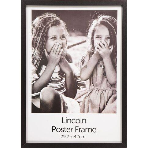 Uniti Box Poster Frame Black A3