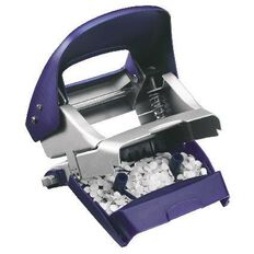 Leitz Metal 2 Hole Punch 30 Sheet Titan Blue