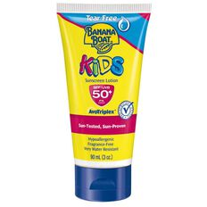Banana Boat Sunscreen Kids Tear Free SPF50+ Lotion 90ml