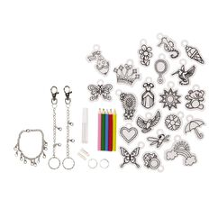 Kookie Make Your Own Shrinking Keychain & Bracelet