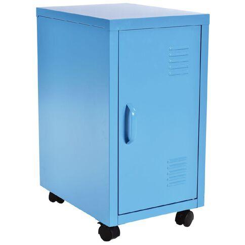 Workspace Metal Locker Blue