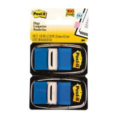 Post-It Flags 2 Pack Blue