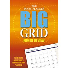 Bartel 2020 Big Grid Everyday Monthly Planner