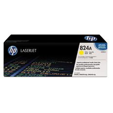 HP 824A Yellow Contract LaserJet Toner Cartridge (31000 Pages)