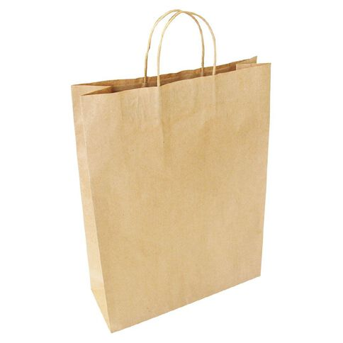 Large Twisted Handle Paper Bag 25 Pack