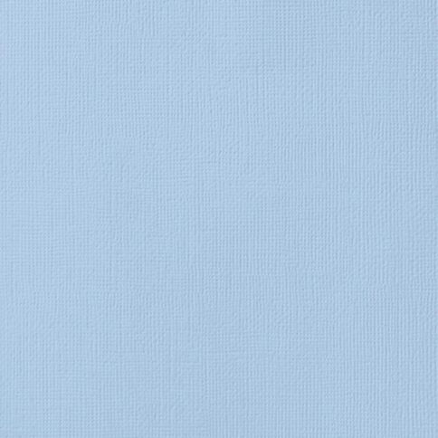 American Crafts Cardstock Textured 12 x 12 Lagoon Blue