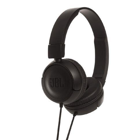 JBL T450 Wired Headphones Black