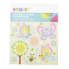 Kookie Mini Sticker Book 12 Sheets Butterfly Garden