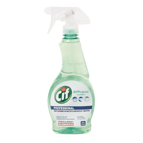 Cif Professional Spray All Purpose Cleaner 520ml