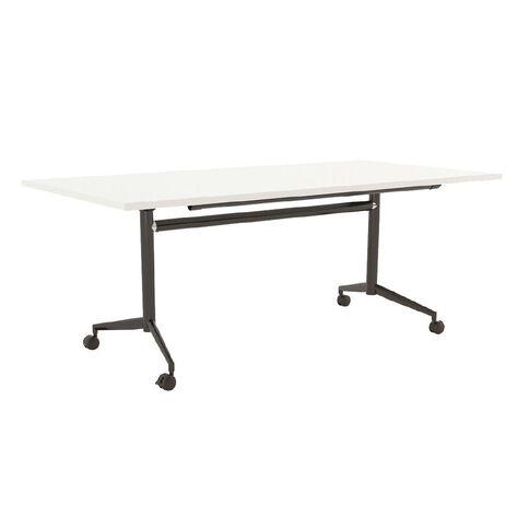 Team Flip Table 1600 x 800 White/Black