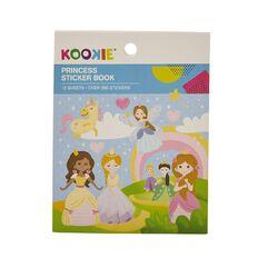 Kookie Mini Sticker Book 12 Sheets Princess