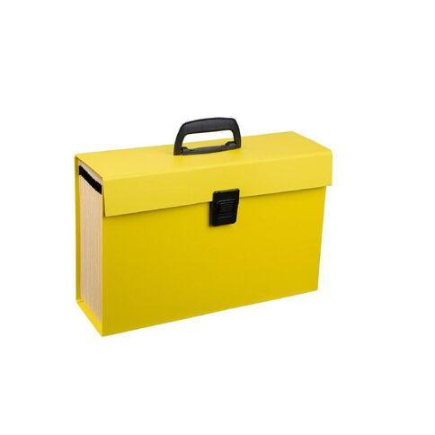 Impact Concertina File 19 Pocket Yellow