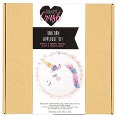 Craft Crush Unicorn Applique Kit