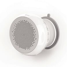 iLuv Iluv Audshower Water Resistant Wireless Shower Speaker White