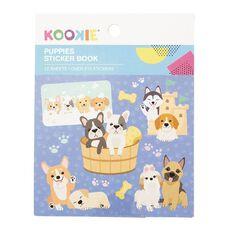 Kookie Mini Sticker Book 12 Sheets Puppies