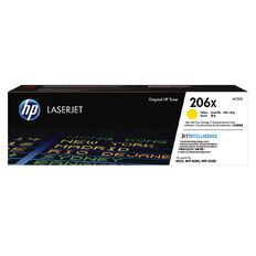 HP Toner 206X Yellow (2450 Pages)