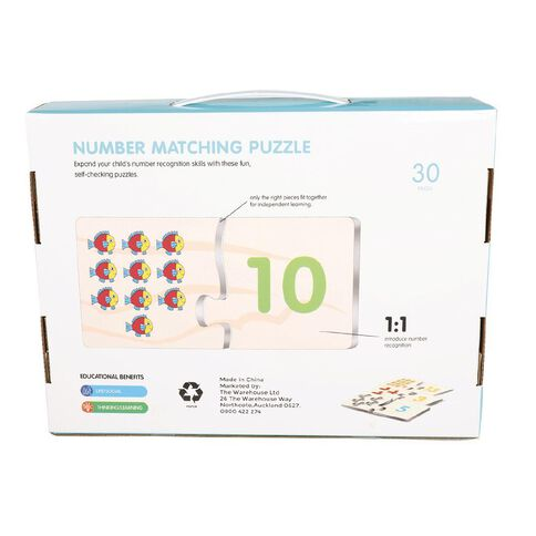 STEAM Number Matching Puzzle