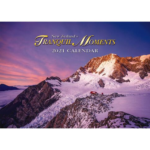 Calendar 2021 Tranquil Moments Booklet