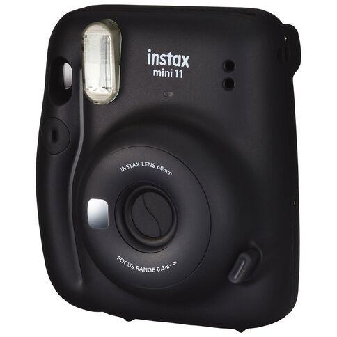 Fujifilm Instax Mini 11 Instant Camera Charcoal Grey