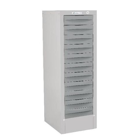 Precision Multi 11 Drawer Silver Grey