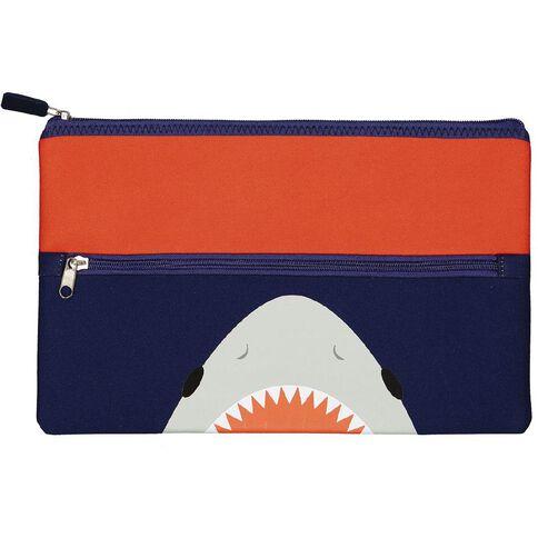 Kookie Sharks Neoprene Pencil Case