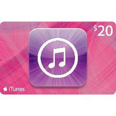 Apple Itunes $20