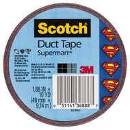 Scotch Duct Craft Tape 48mm x 9.14m Superman