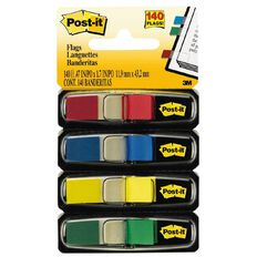 Post-It Flags 4 Pack Assorted