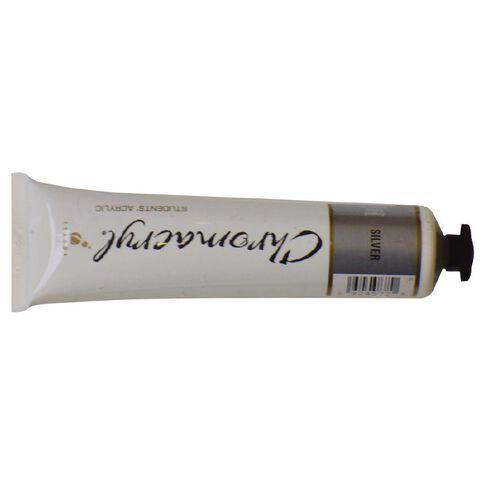 Chromacryl Paint 75ml Silver Silver