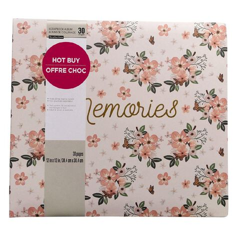 Craft Smith Album Orange Blossom 12in x 12in