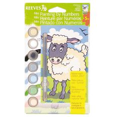 Reeves Paint By Numbers Mini Assorted