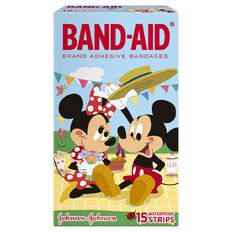 Band Aid Plasters Mickey Mouse 15s