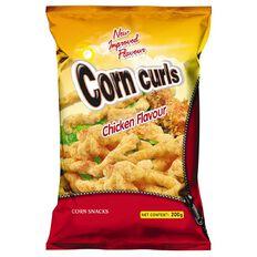 Corn Curls Chicken Flavour 200g