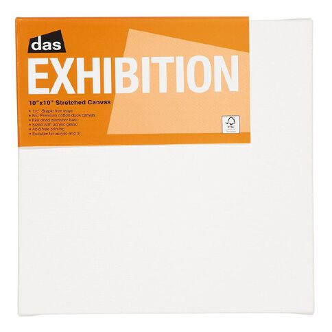 DAS 1.5 Exhibition Canvas 10 x 10in White