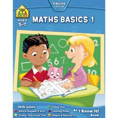 I Know It Workbook Maths Basics (5-7) by Schoolzone